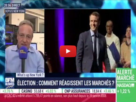 Présidentielle française : la réaction des marchés