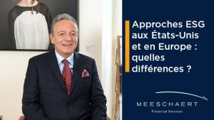 Approches ESG aux Etats Unis et en Europe : quelles différences ?