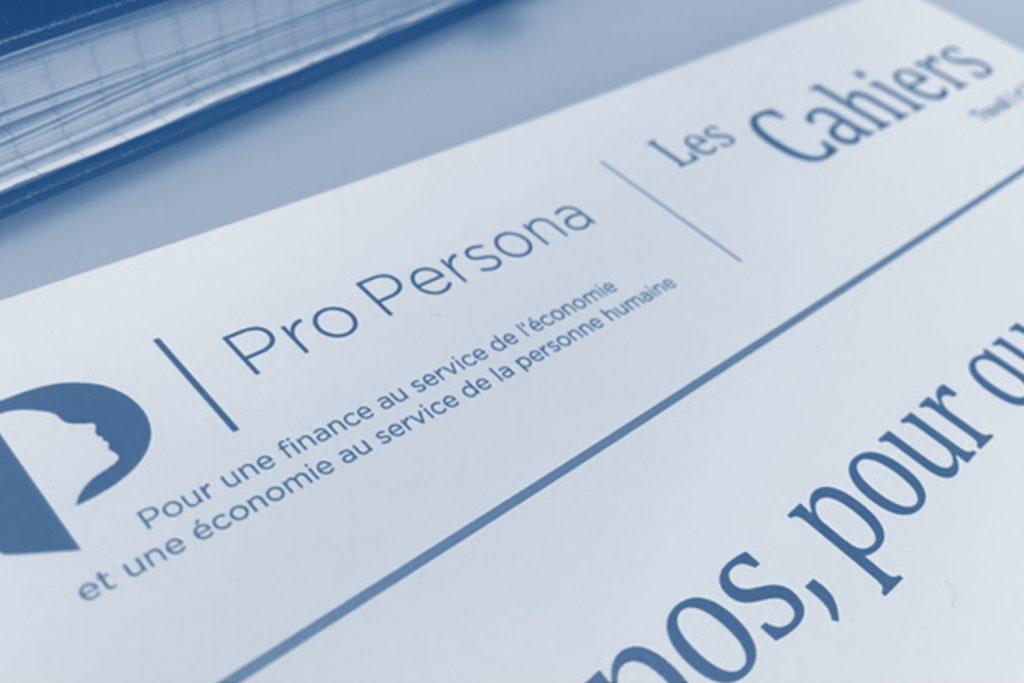 Cahiers Pro Persona «L'argent, ce mystère qui interroge»