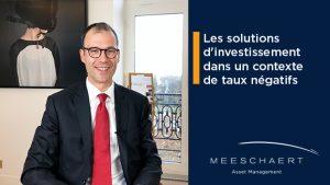 Les solutions d'investissement dans un contexte de taux négatifs