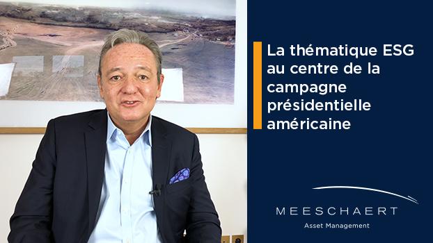 La thématique ESG au centre de la campagne présidentielle américaine