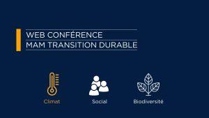 Web conférence transition durable : l'alimentation responsable pour tous