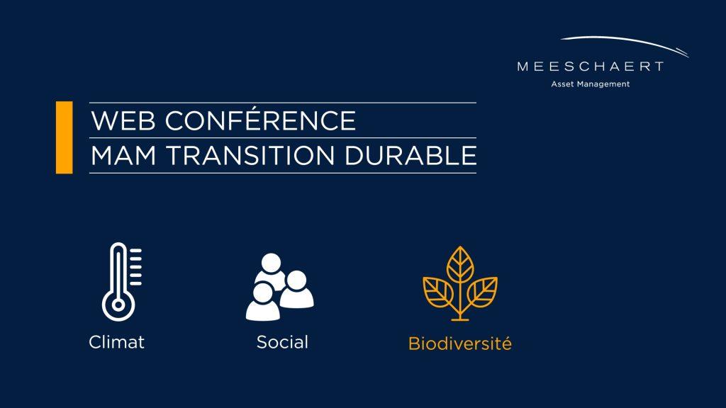 Web conférence transition durable : le patrimoine océanique, un trésor économique à préserver
