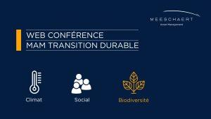 Web conférence transition durable : recourir aux solutions fondées sur la nature